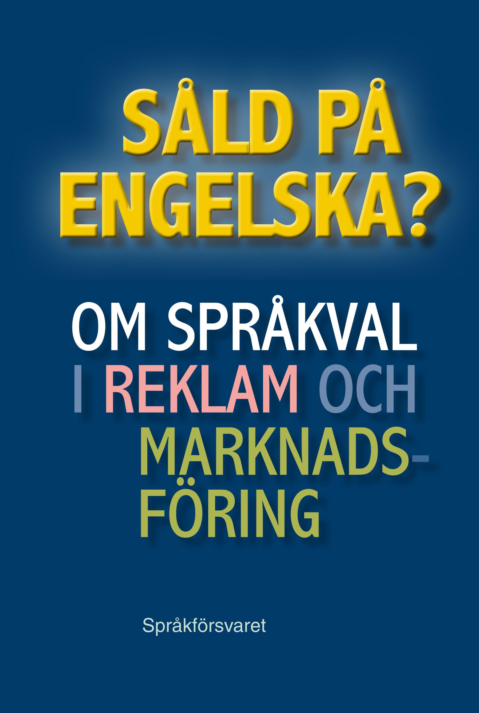 be på engelska